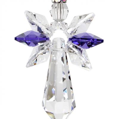Amethyst Crystal Guardian Angle
